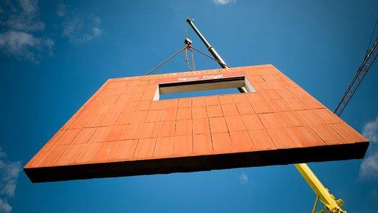 You are currently viewing Építkezés előregyártott téglafal elemekből
